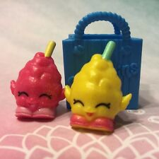 Shopkins Season 1 ULTRA RARE Candi Cotton set with Bag!!