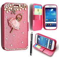PU Leather Flip Wallet Case for Samsung Galaxy Alpha SM-G850 Stand Book Cover
