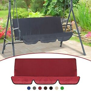 Outdoor Swing Cushion 3 Seater Swing Chair Cushion Waterproof Swing Seat Pads