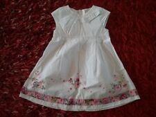 Robe fille blanche à fleurs   TAILLE 2 ans /86 cm    KENZO Kids    Bonne état