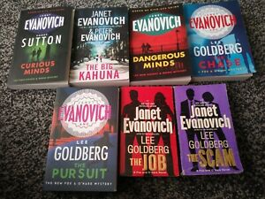 janet evanovich books. Knight and moon series in paperback. Good condition
