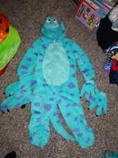 THE DISNEY STORE 4 MONSTERS INC SULLEY COSTUME RARE