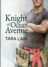 KNIGHT OF OCEAN AVENUE * LARGE SOFTCOVER BOOK * by: TARA LAIN * GAY