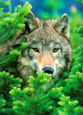 NEW IN BOX Clementoni Jigsaw Puzzle 500 Piece WOLF