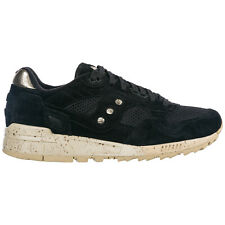 SAUCONY MEN'S SHOES SUEDE TRAINERS SNEAKERS NEW SHADOW 5000 BLACK 52E