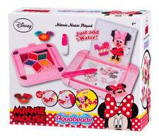 79678 Aqua Beads Disney Mini Mouse Playset inc 640 Beads Children Kids Girls 4+