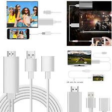 Nuevo Teléfono Móvil recurriendo a HDMI cable adaptador de transferencia de TV de conexión para iPhone
