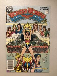 Wonder Woman #1 (DC 1987 Vol 2) Origin NM Hilltop Pedigree Newsstand (E1)