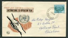 Australian First Day Cover. 1965 I.C.Y.