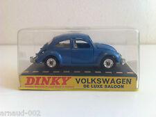Dinky Toys - 129 - Volkswagen Beetle 1200 De Luxe Saloon VN MIB