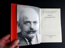 George GURDJIEFF Meetings with Remarkable Men US First Edition 1963 Spirituality