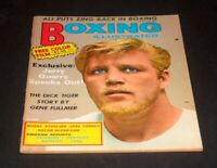 BOXING ILLUSTRATED JANUARY 1971 JERRY QUARRY
