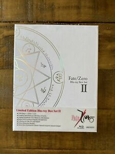 Fate Zero Limited Edition Part 2 Blu-ray Box Set Used - Free Shipping