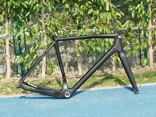 2021 Carbon Matt Gravel Bike Disc brake Frame 46cm 142mm + Fork 12mm + 2 * Axle