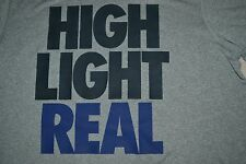 """Nike """"High Light Real"""" Dri-Fit T-Shirt Color: Gray Men's Size: Large New w/Tag!"""