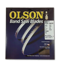 """Olson 19293 Band Saw Blade 93-1/2"""" Long x 3/8"""" Wide .025"""" Thick 4 TPI"""