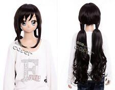 W-351 BLOOD-C Saya Kisaragi Cosplay Anime MANGA Perücke Wig schwarz black 80cm