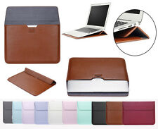 """PU Leather Envelop Laptop Case Sleeve Cover For Macbook Air Retina 11""""12""""13"""" 15"""""""