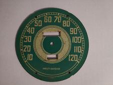 harley davidson wla wlc g ul el flathead knucklehead speedometer face genuine