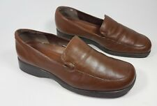 Naturalizer brown leather flat shoes uk 7w