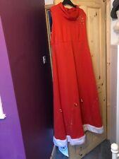 mrs santa claus fancy dress Size 14/16
