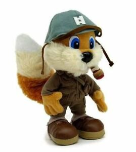 TOY VAULT CONKER LIVE & RELOADED PLUSH NEW SEALED **NON -TALKING**