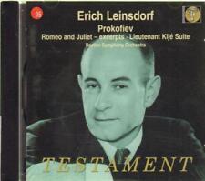 Various Classical(CD Album)Romeo And Juliet Excerpts, Lieutenant Kije S-New