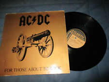 ACDC For those about to rock LP