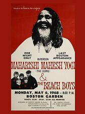 "The Beach Boys Boston 16"" x 12"" Photo Repro Concert Poster"