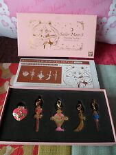 *Sailor Moon 20th Anniversary-Sailor Moon Premium Bandai Pins & Charms set -RARE
