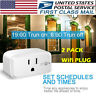 Smart Plug Wifi Outlet Switch Socket for Echo and Google Air Conditioner 2PACK