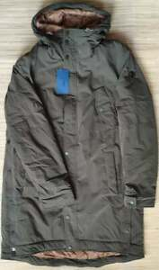 Trussardi Jeans traveller's parka - Hooded, soft touch shell, Padded, oversized