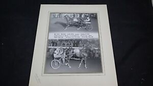 Vintage Harness Racing Winners Photo Jackson Michigan Miss Rose Adios 1963