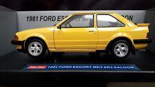 1:18 1981 FORD ESCORT MK3 XR3