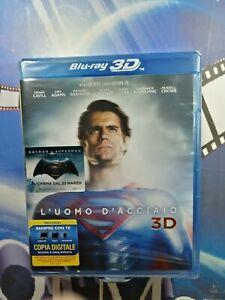 L' Uomo D'Acciaio*(3D) (Blu-Ray 3D*