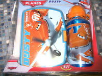 DISNEY PLANES DUSTY ALUMINIUM CANTEEN & LUNCH BOX GIFT SET BRAND NEW!