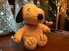 """PRESTIGE PEANUTS BABY SNOOPY My First Snoopy Plush Animal Rattler 11""""~NO RESERVE"""