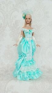 """NEW DRESS and jewelry for dolls 16""""Tonner doll Tyler body/Sydney.Sybarite doll.❤"""