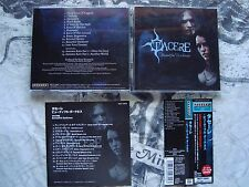 TACERE Beautiful Darkness CD JAPAN OBI