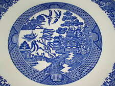 Assorted Blue Willow Pattern Dinnerware Pieces