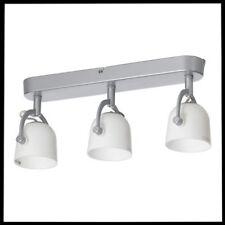 "IKEA SVIRVEL Ceiling Track Light 3 Adjustable Spotlights 15"" NEW Free Shipping"