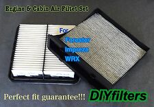 COMBO SET ENGINE&CARBON CABIN AIR FILTER for Forester Impreza WRX XV Crosstrek