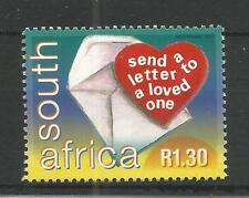 SOUTH AFRICA 2000 WORLD POST DAY SG,1202 UN/MM NH LOT 1431A