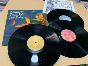 THE SMASHING PUMPKINS 3 LP MELLON COLLIE AND THE INFINITE SADNESS BLACK VINYL