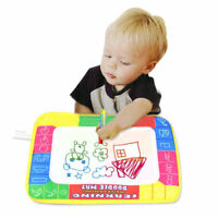 Drawing Water Pen Painting Writing Magic Doodle Mat Board Kid Boy Girl Toys