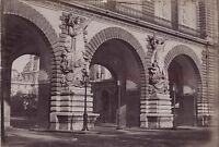 Parigi il Louvres Francia Vintage Stampa Albumina Ca 1880