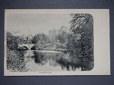 R&L Postcard: Alnwick Castle, Valentines Castles of England Series