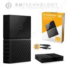 HARD DISK HD2,5 ESTERNO WESTERN DIGITAL MY PASSPORT 1TB BLACK WDBYNN0010BBK-WESN