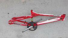 Red Haro BMX Bike Vintage Midschool Freestyle Fusion Frame Cranks Chainwheel