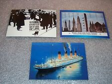 TITANIC Collectors Cards PROMO Card Set